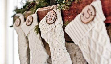 DIY Personalized Christmas Stockings from Amazon